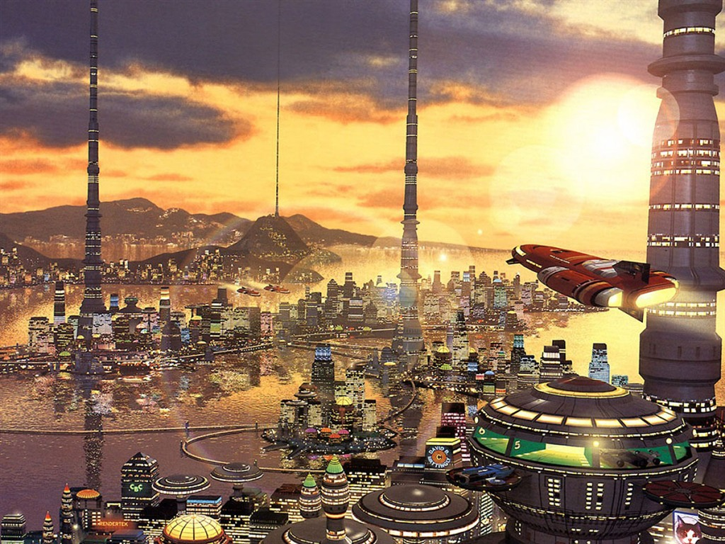 awesome science fiction wallpaper - photo #31