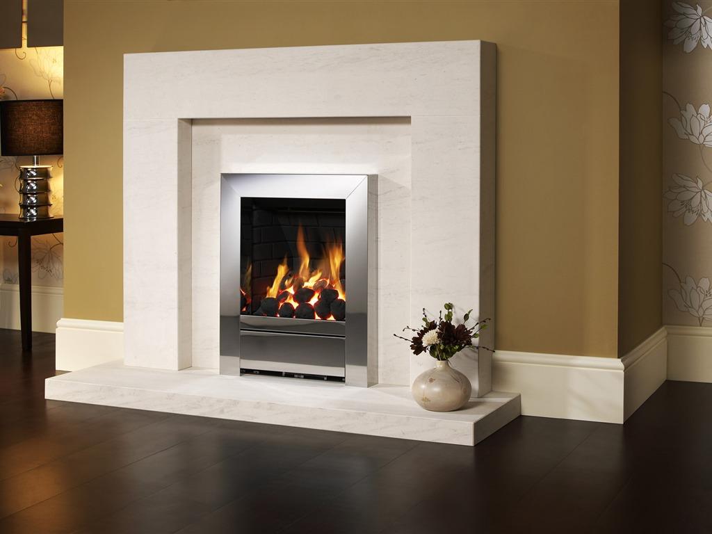 western fireplace wallpaper - photo #2