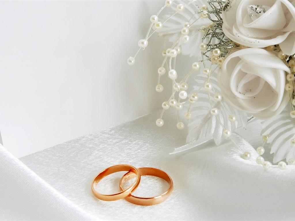 Mariage et papier peint anneau de mariage (2) #4 - 1024x768 Fond d ...