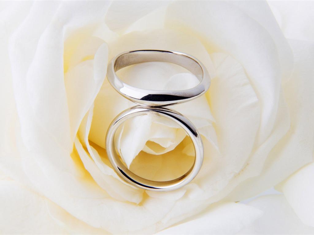 Mariage et papier peint anneau de mariage (2) #18 - 1024x768 Fond d ...