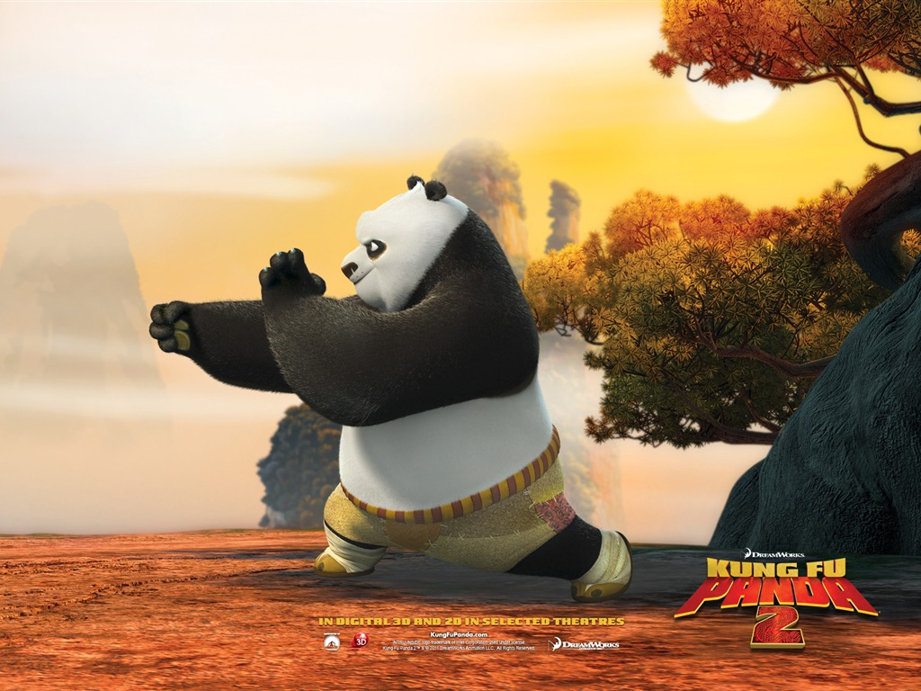 Kung fu panda 2 fonds d 39 cran hd 10 1024x768 fond d - Kung fu panda 3 telecharger ...