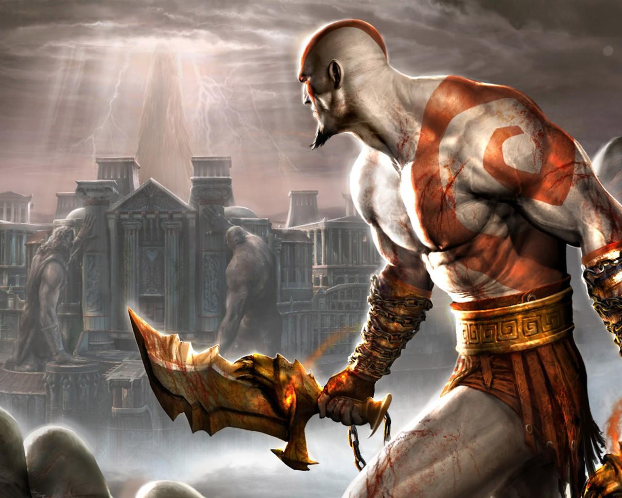 God Of War Hd Wallpaper 14 1280x1024 Wallpaper Download