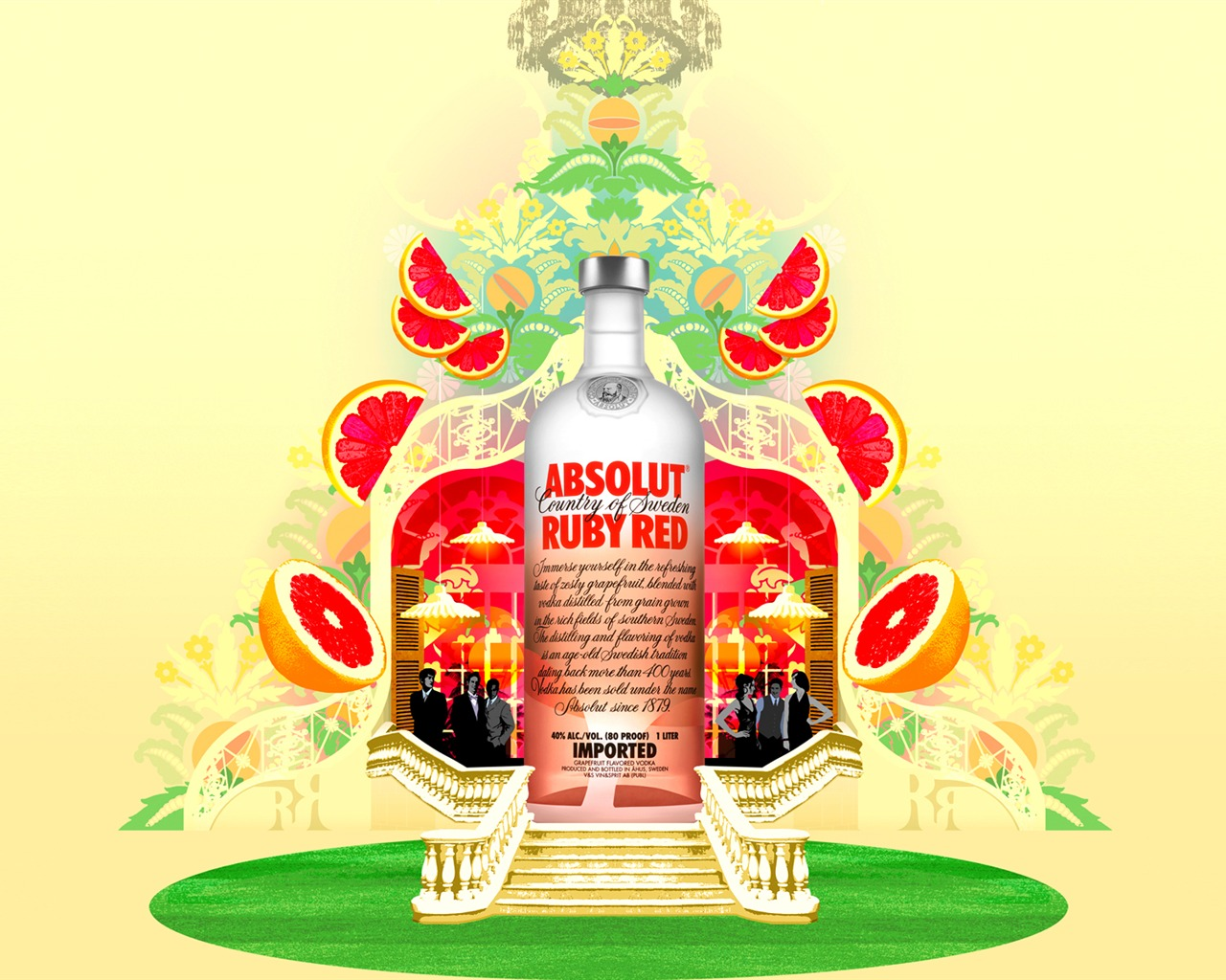 Absolut Tapety louhu Reklama #10 - 1280x1024