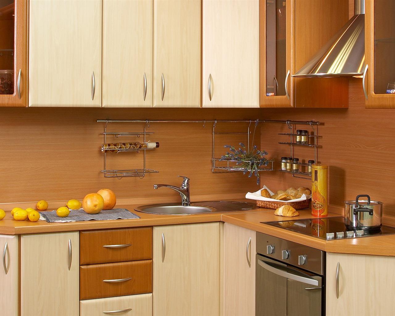 Fondo de pantalla de fotos cocina 3 5 1280x1024 - Limpiar muebles de cocina de madera ...