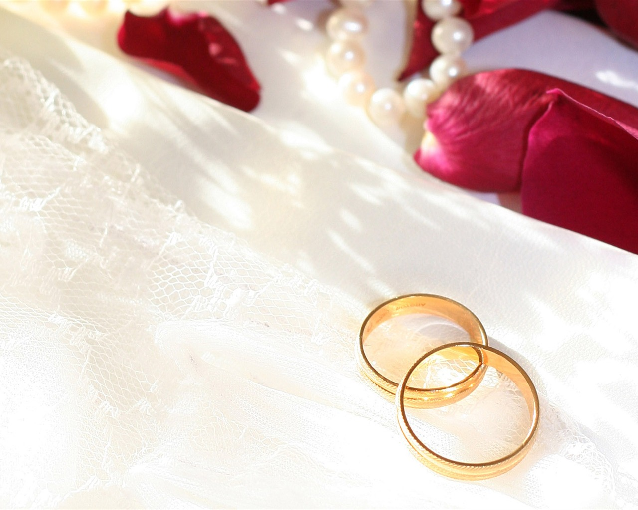 Mariage et papier peint anneau de mariage (1) #7 - 1280x1024 Fond d ...