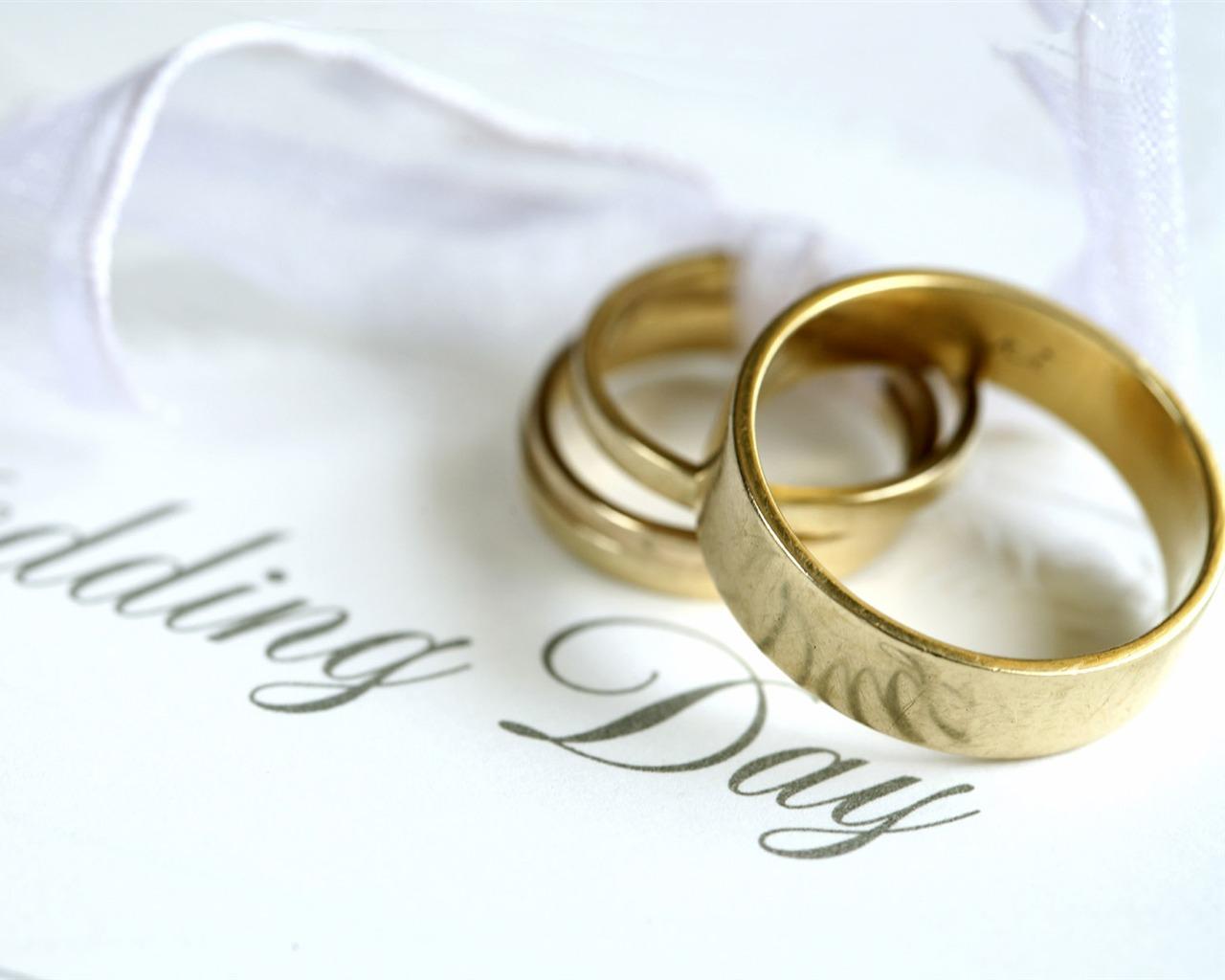 Mariage et papier peint anneau de mariage (1) #15 - 1280x1024 Fond d ...