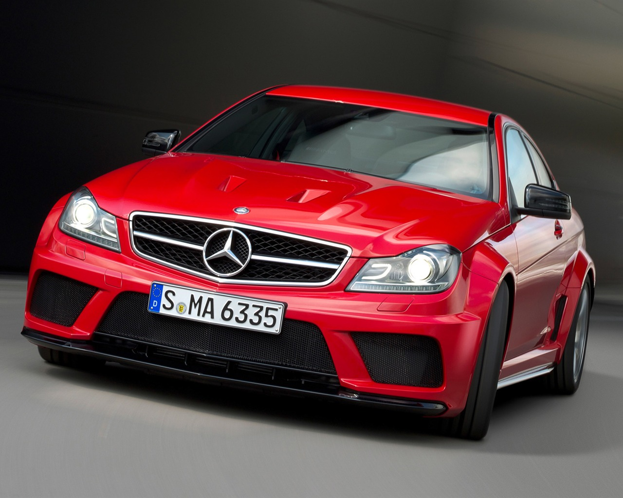 Mercedes-Benz C63 AMG Coupe Black Series - 2011 HD wallpapers #6 ...