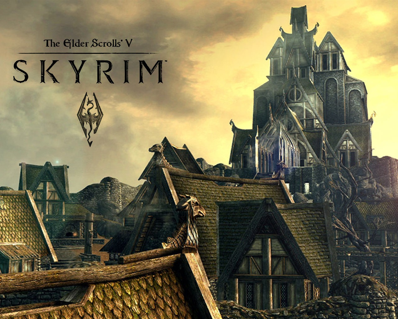 the elder scrolls v: skyrim hd wallpapers #17 - 1280x1024 wallpaper