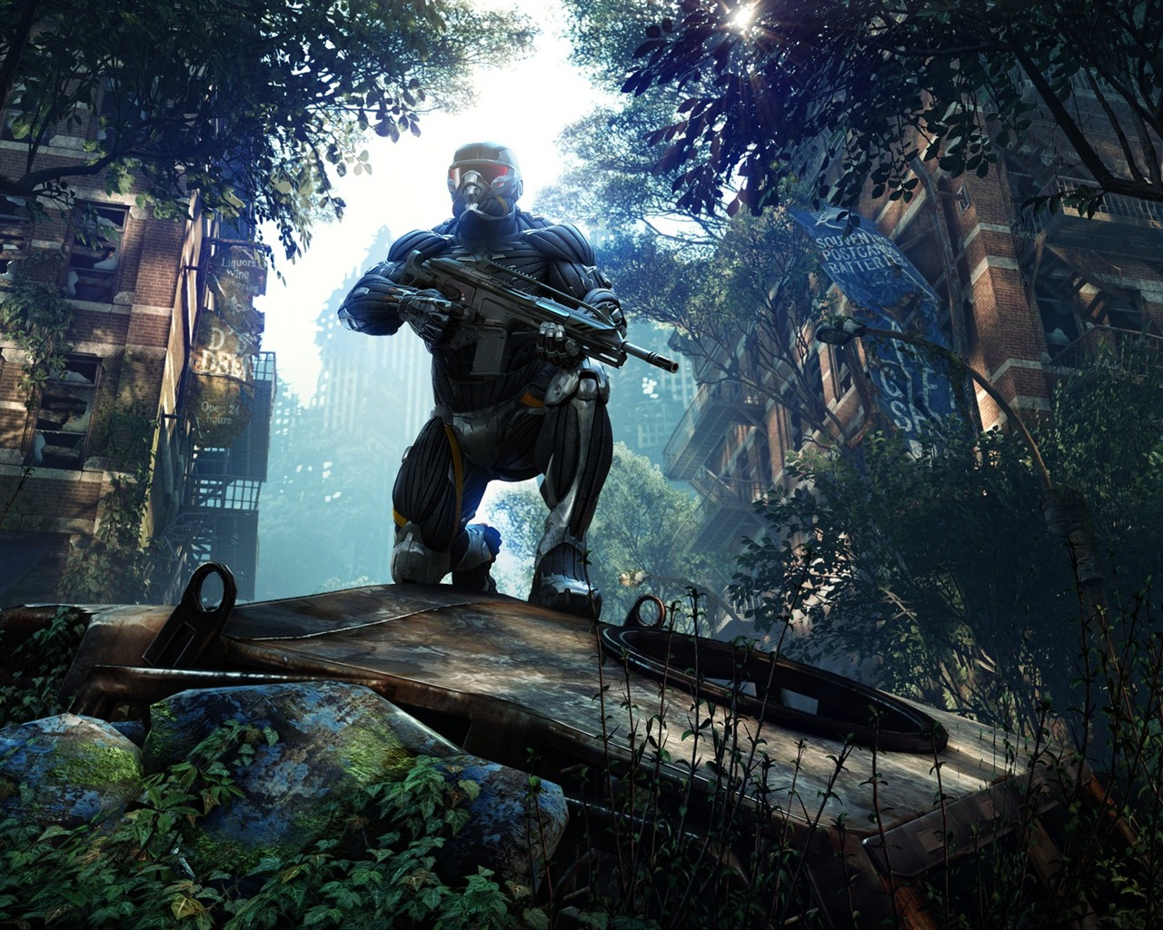 Crysis 3 2013 Video Game 4k Hd Desktop Wallpaper For 4k: 1280x1024 Wallpaper Download