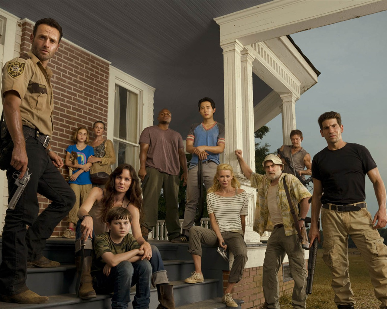 1280x1024 the walking dead - photo #42