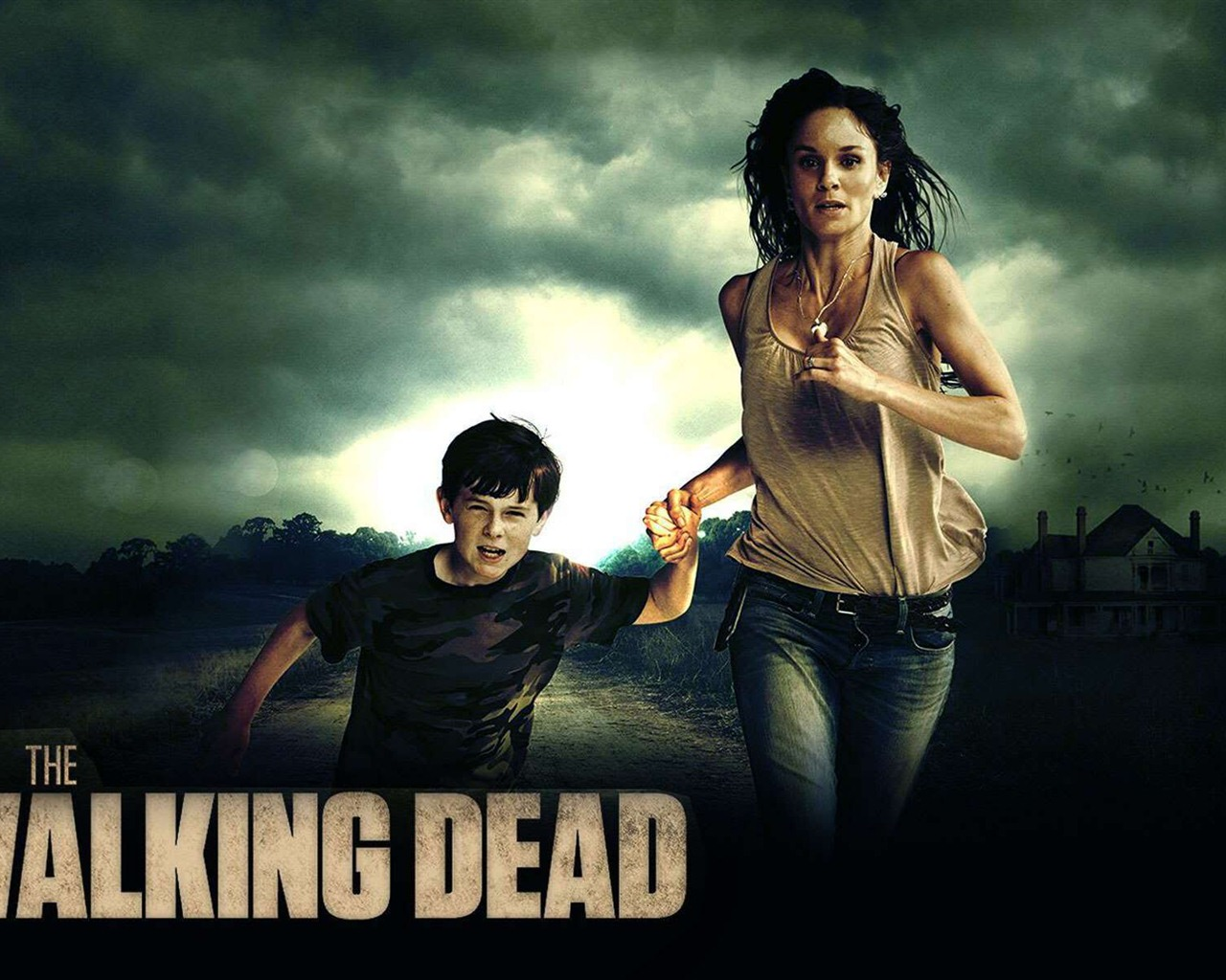 1280x1024 the walking dead - photo #3