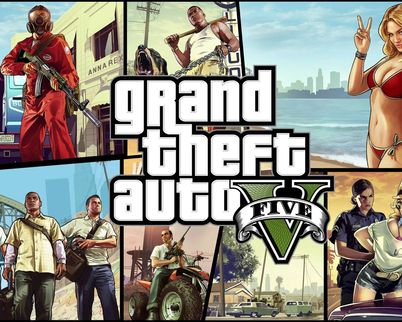 grand theft auto v gta 5 hd game wallpapers #8 - 1280x1024 wallpaper