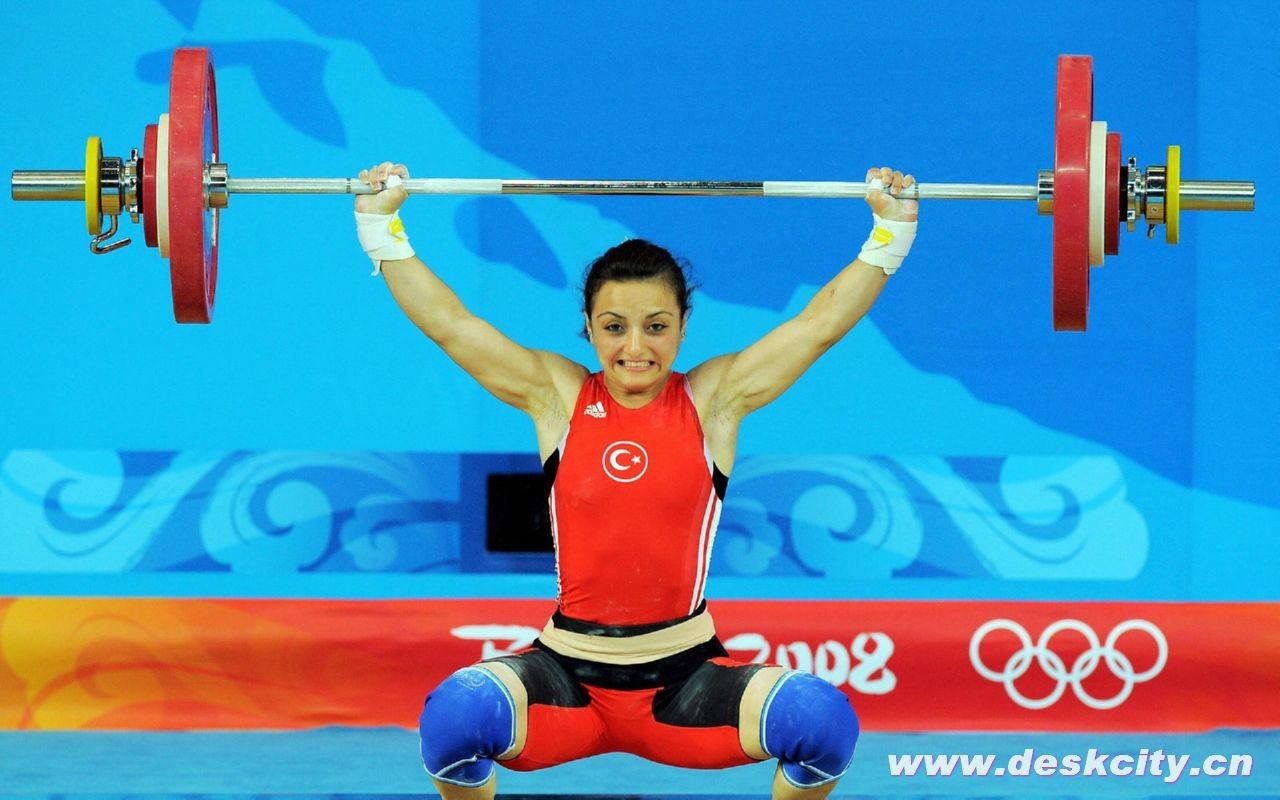 Beijing Olympics Weightlifting Wallpaper 1