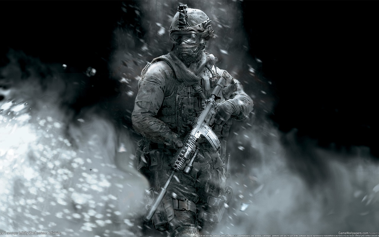 Call of Duty 6: Modern Warfare 2 HD Wallpaper #39 - 1280x800