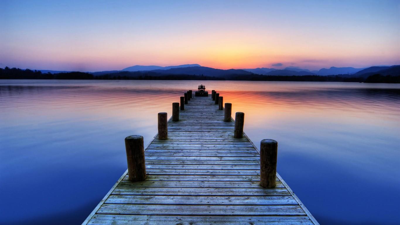 Foto popis krásný východ slunce a západ slunce tapety 5