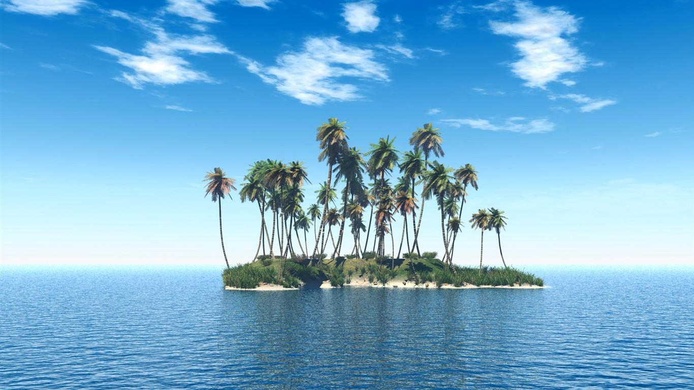 El paisaje costero hermoso fondo de pantalla HD #12