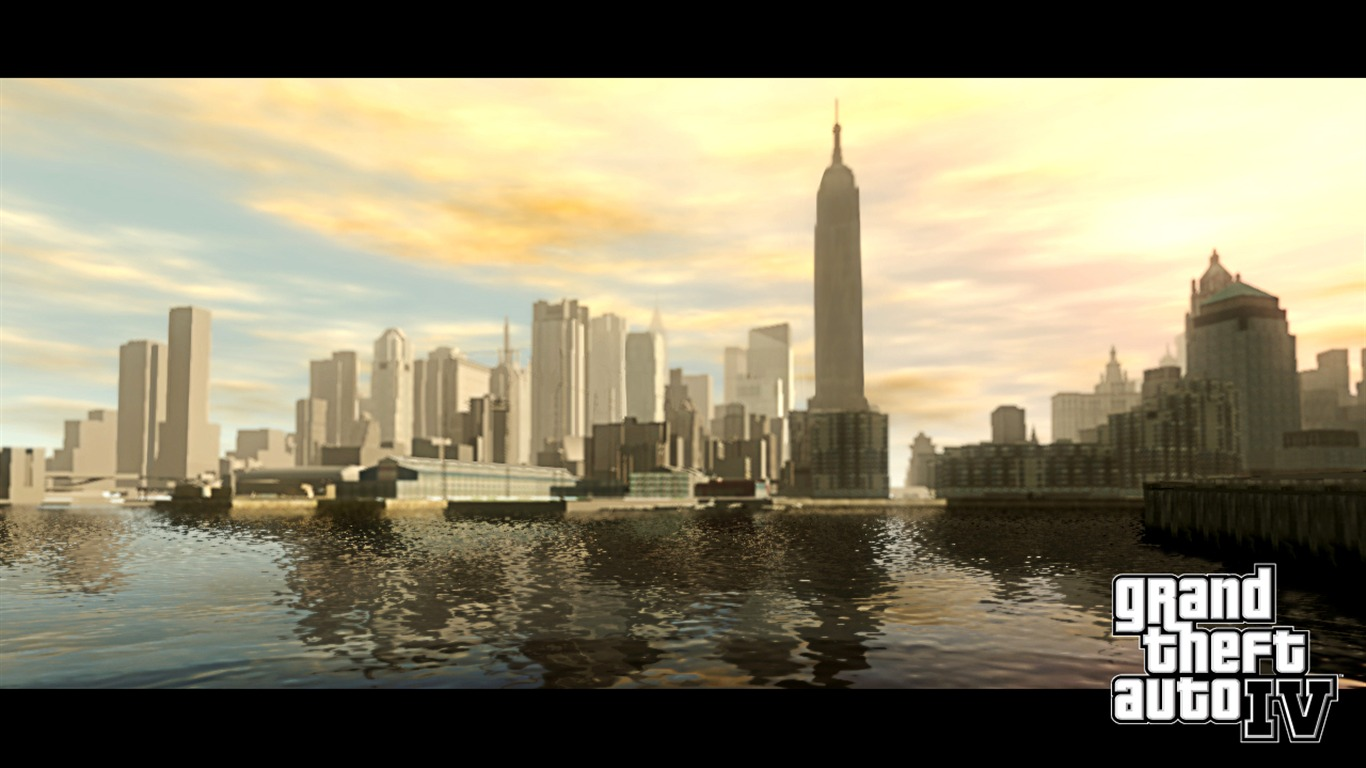 grand theft auto 4 wallpaper 1 4 1366x768 wallpaper