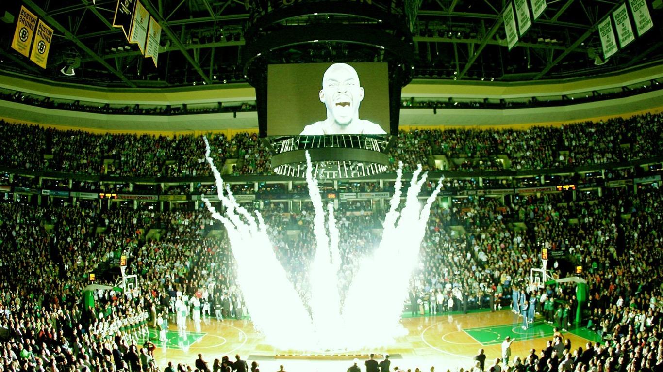 Boston Celtics Fond d'écran officiel #9 - 1366x768 Fond d'écran Télécharger - Boston Celtics ...