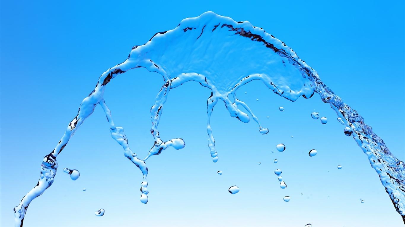 Ritmo destacados de agua fondo de pantalla 13 1366x768 for Fondos animados de agua