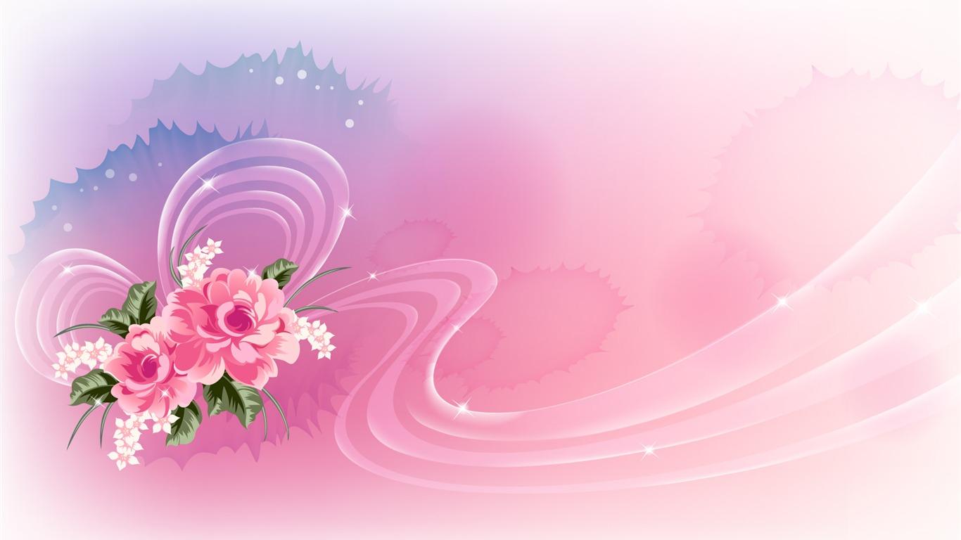 炫彩花纹 壁纸 八 14 1366x768 壁纸下载 炫彩花纹 壁纸 八 设计壁纸 V3壁纸站