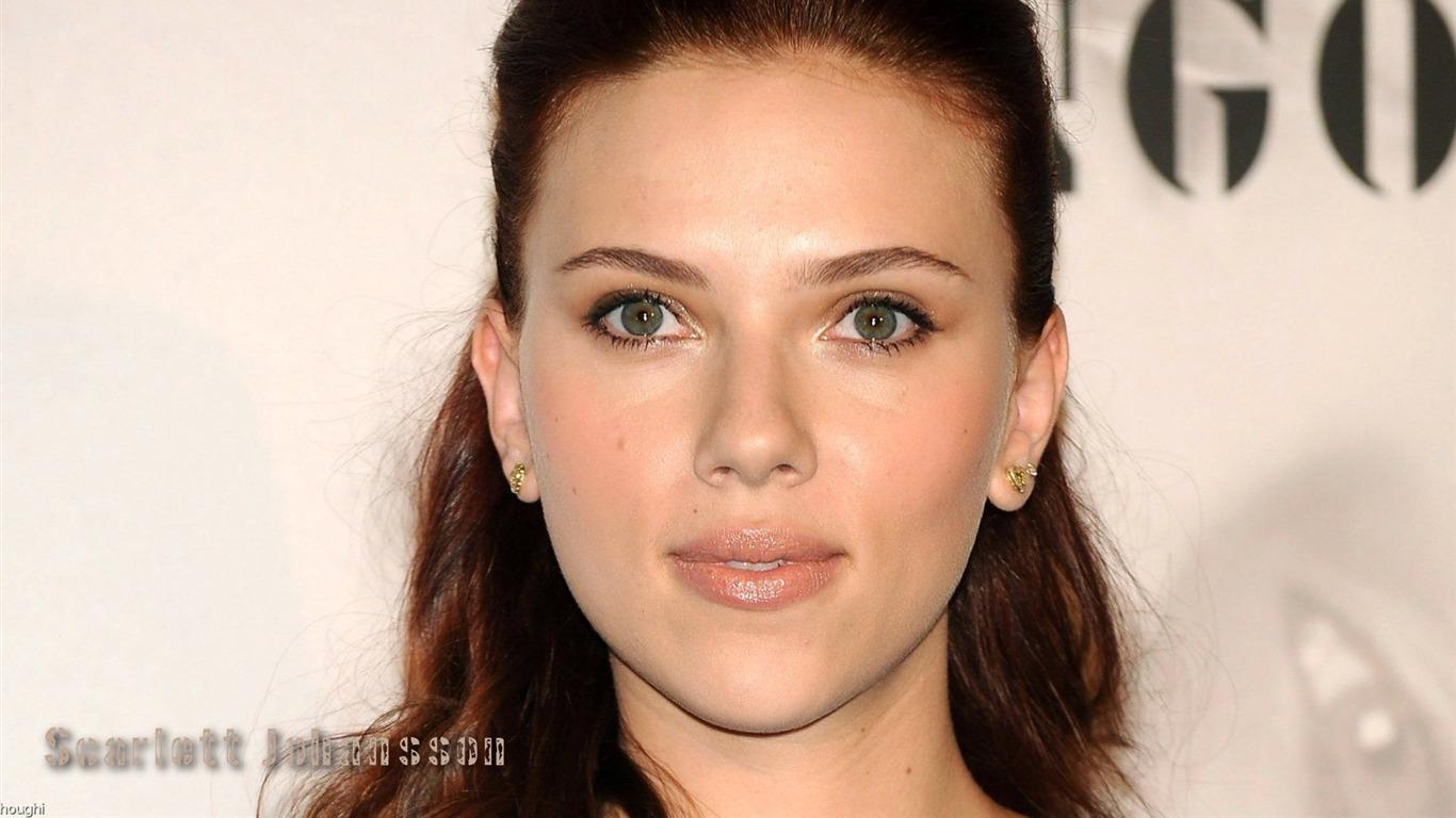 Scarlett Johansson bea... Scarlett Johansson Wallpaper