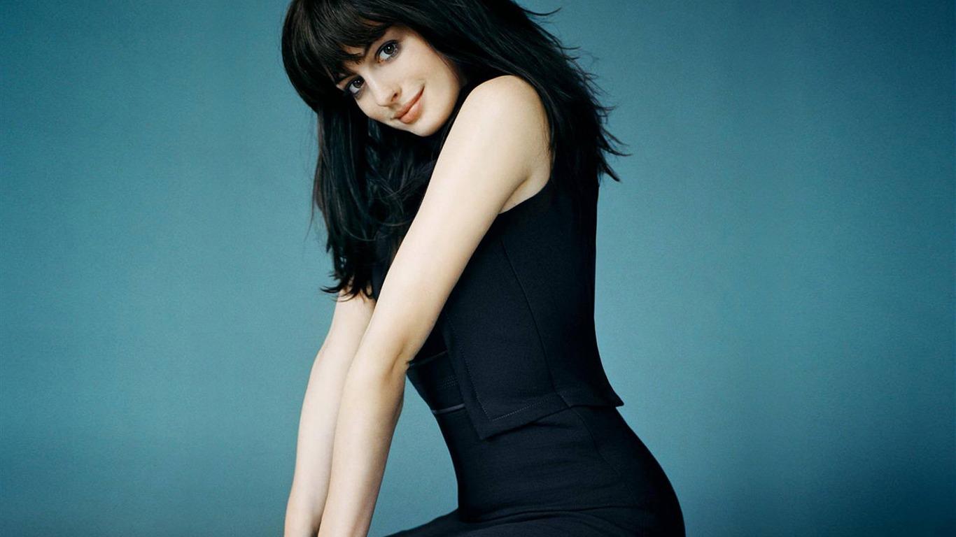 Anne Hathaway 安妮·海瑟薇美女壁紙 (2) #29 - 1366x768 壁紙下載 - Anne ... Anne Hathaway