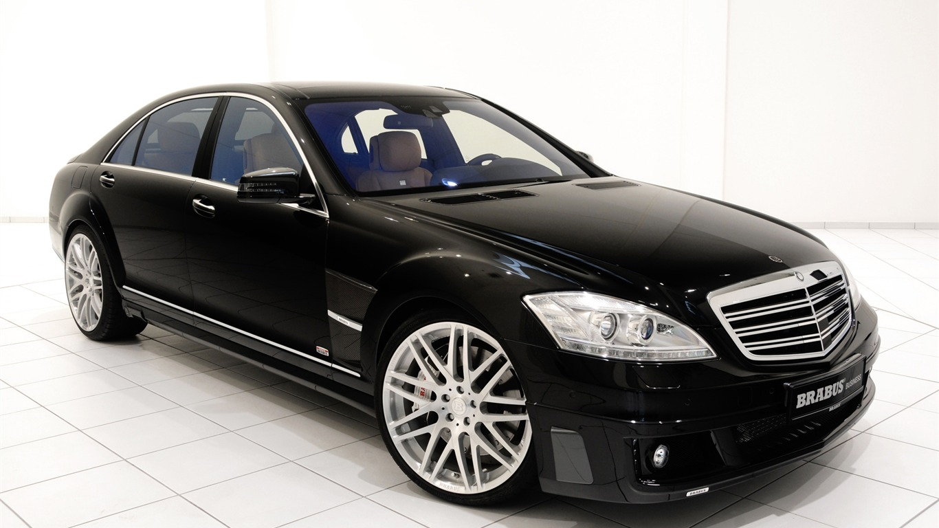 brabus ibusiness mercedes benz s class w221 2010 hd. Black Bedroom Furniture Sets. Home Design Ideas
