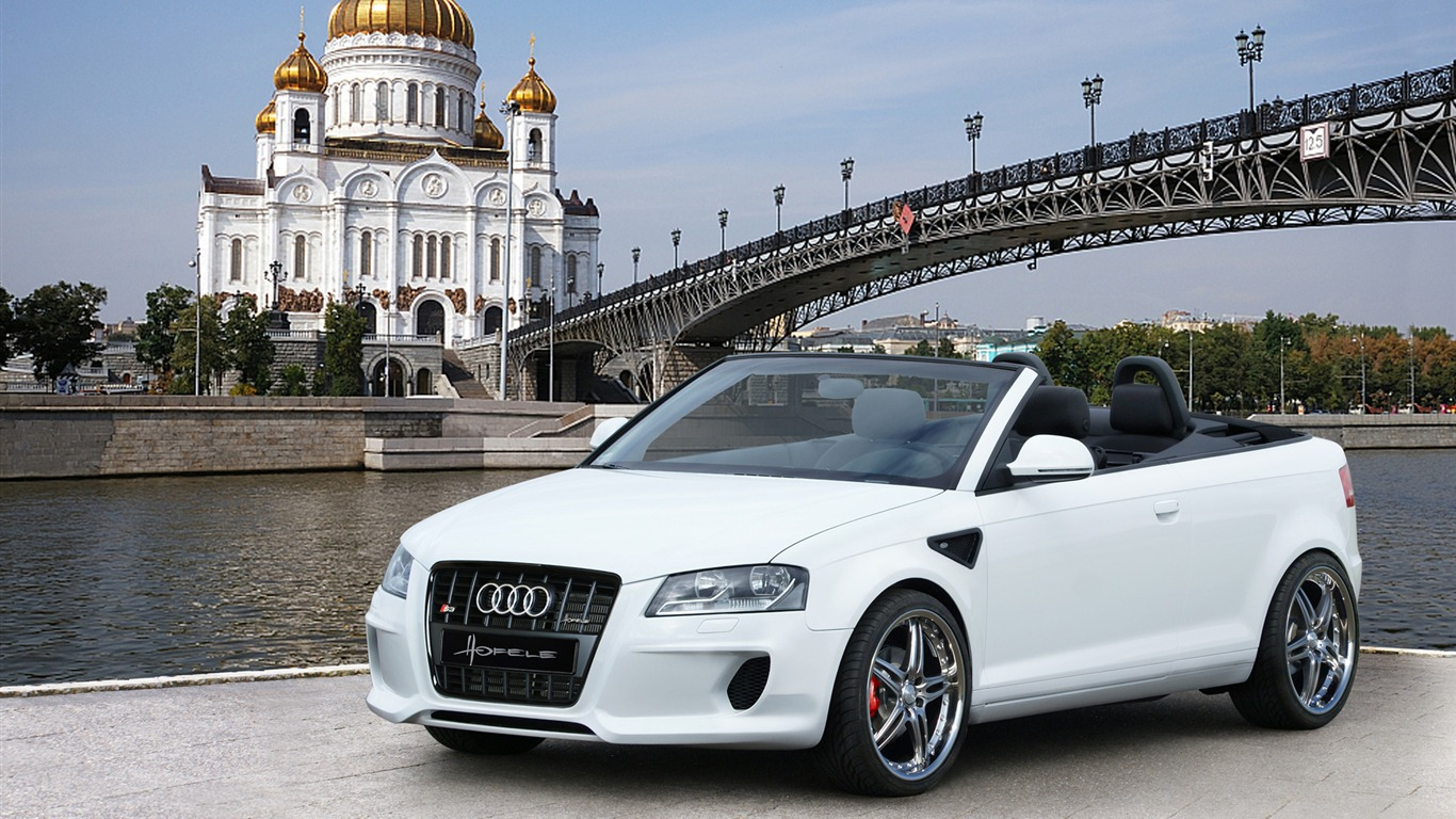 audi a3 cabrio hofele hd fond d 39 cran 1 1366x768 fond d 39 cran t l charger audi a3 cabrio. Black Bedroom Furniture Sets. Home Design Ideas