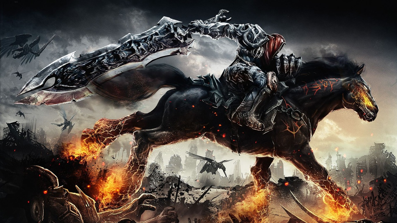 Darksiders Wrath Of War Fondos De Escritorio De Alta