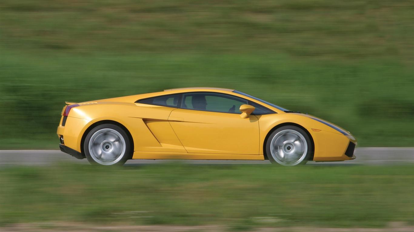 Lamborghini Gallardo 2003 兰博基尼50 1366x768 壁纸下载 Lamborghini Gallardo 2003 兰博基尼 汽车壁纸 V3壁纸站