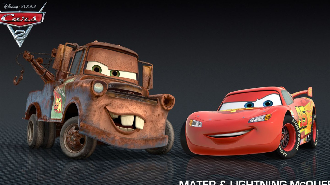 Cars 2 2 1 1366x768 cars 2 2 - Flash mcqueen film gratuit ...