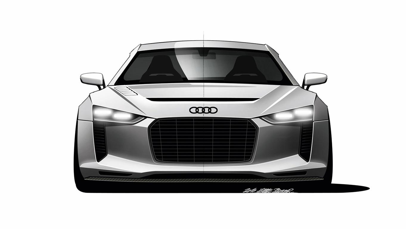 Concept Car Audi Quattro 2010 奧迪 28 1366x768 壁紙下載