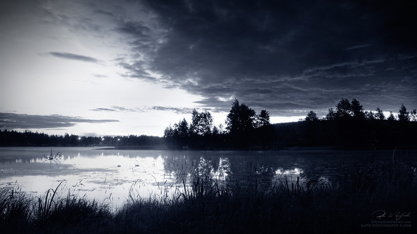 Dark Landscape Wallpaper