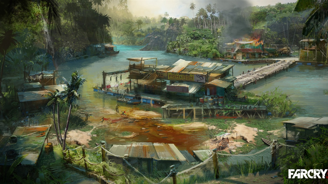 Far Cry 3 Hd Wallpapers 2 1366x768 Wallpaper Download Far Cry