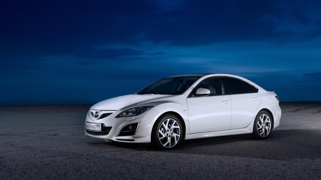 Mazda 6 2010 ɩ�自达43 1366x768 ţ�纸下载 Mazda 6 2010 ɩ�自达