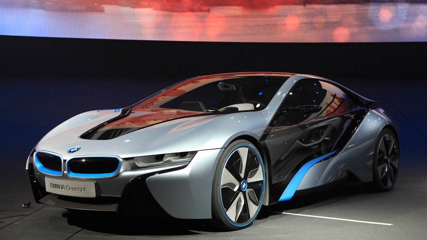 Bmw I8 Concept 2011 Hd Wallpapers 20 1366x768
