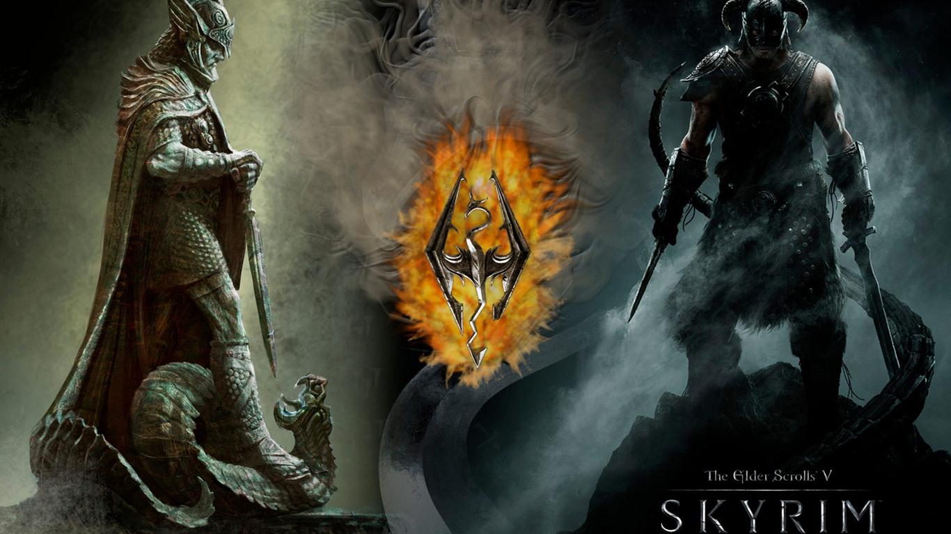 the elder scrolls v skyrim hd wallpapers 18 1366x768