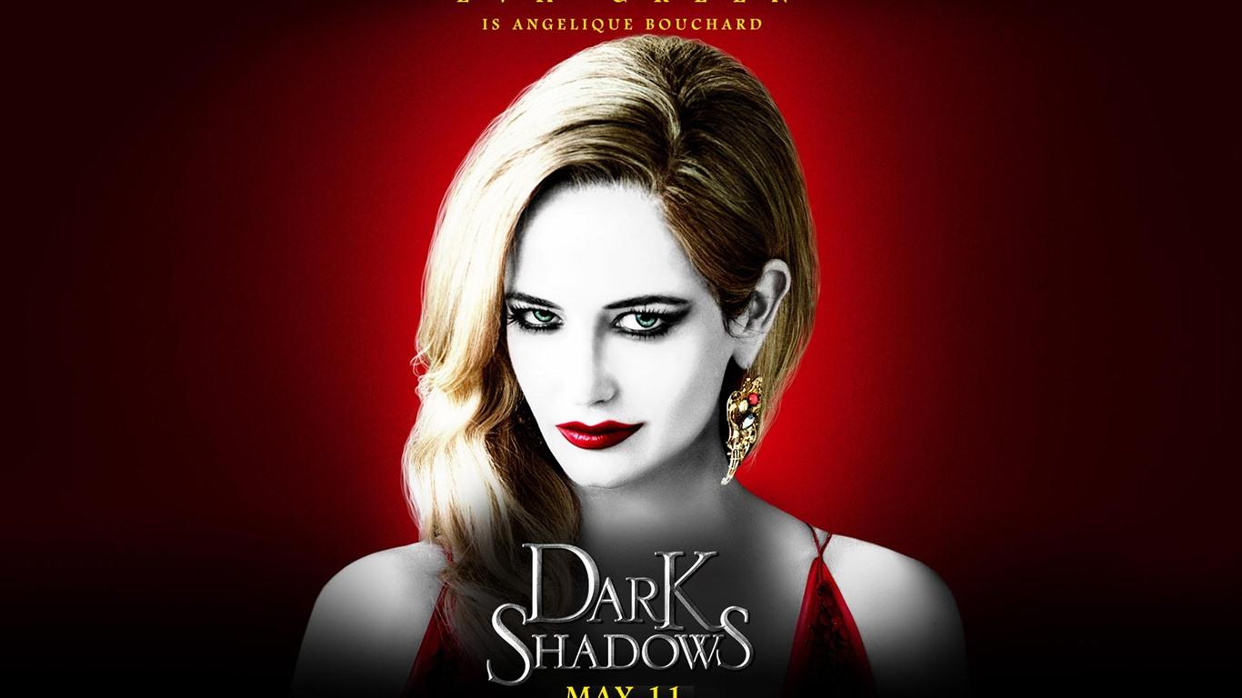 Dark Shadows 黑影家族 高清影视壁纸6 - 1366x768 壁纸下载 - Dark Shadows ... Eva Green