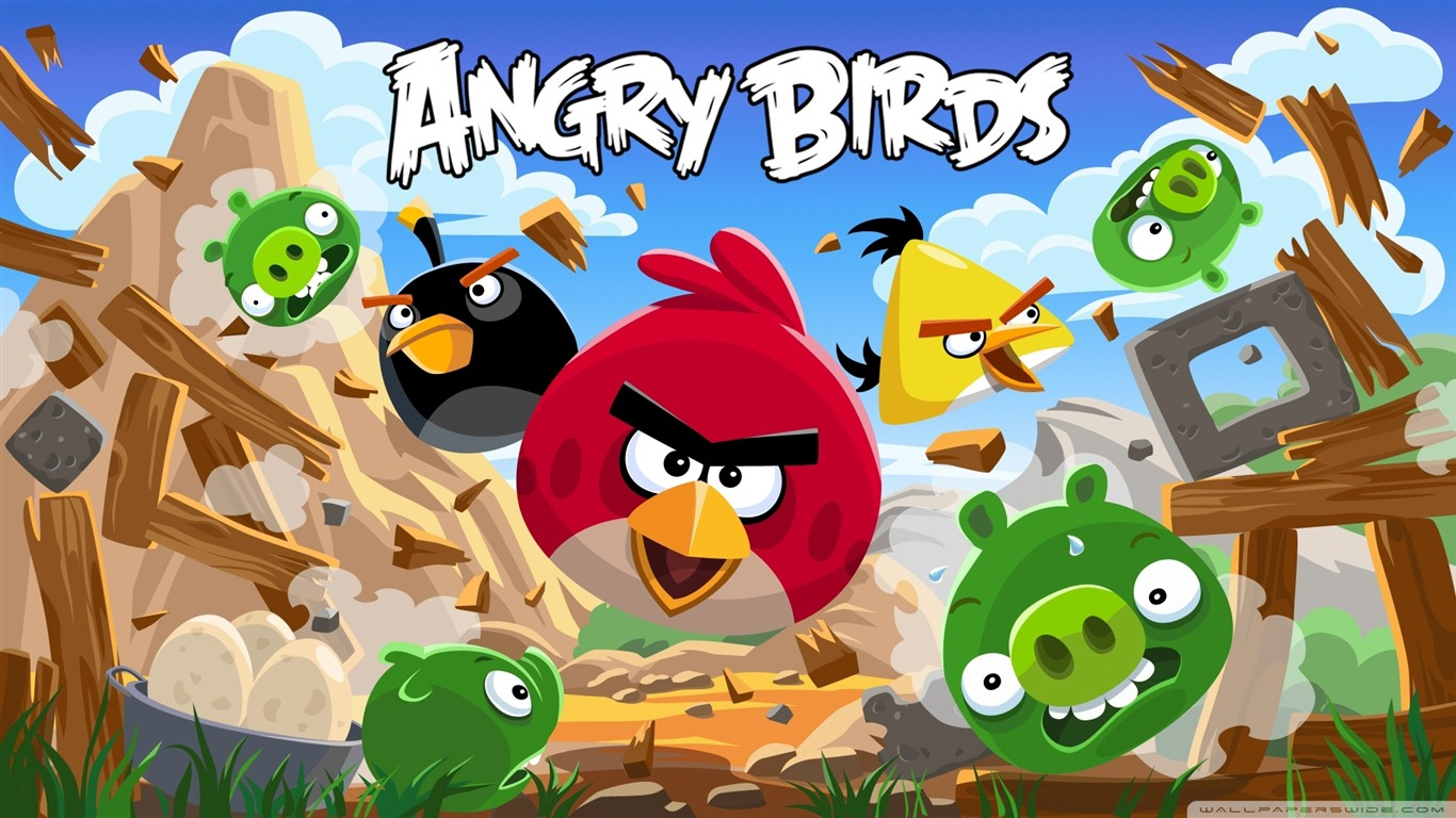 angry birds wallpaper 10 - photo #14