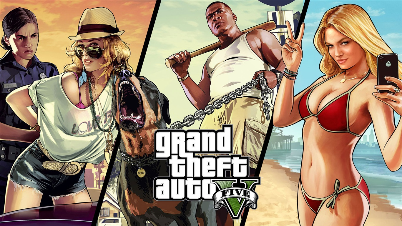 grand theft auto v gta 5 hd game wallpapers 17 1366x768