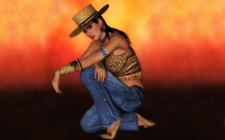 widescreen 3d female wallpaper 8 1440x900 wallpaper