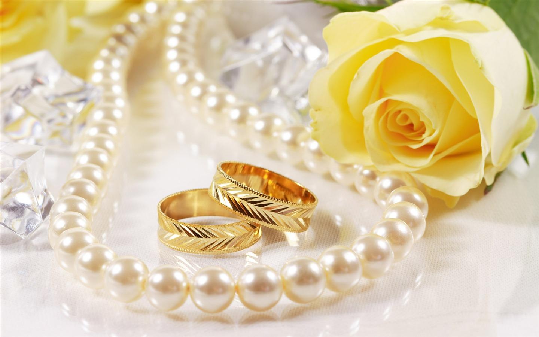 Mariage et papier peint anneau de mariage (2) #1 - 1440x900 Fond d ...