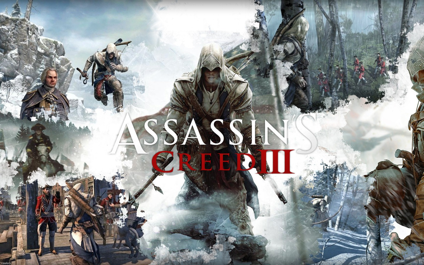 Assassin 's Creed 3 fonds d'écran HD #14 - 1440x900
