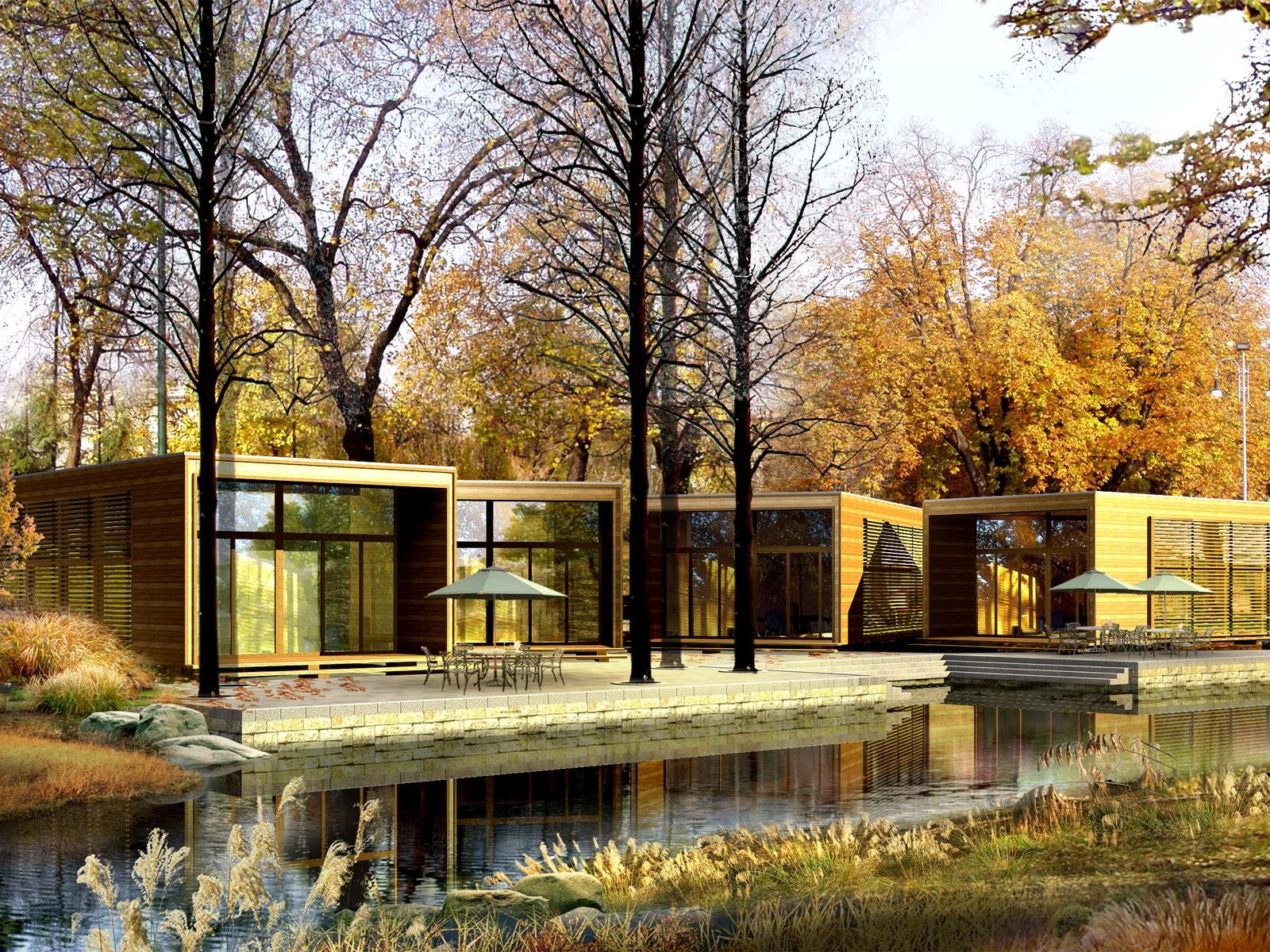 wallpaper buildings landscapes landscape-#19