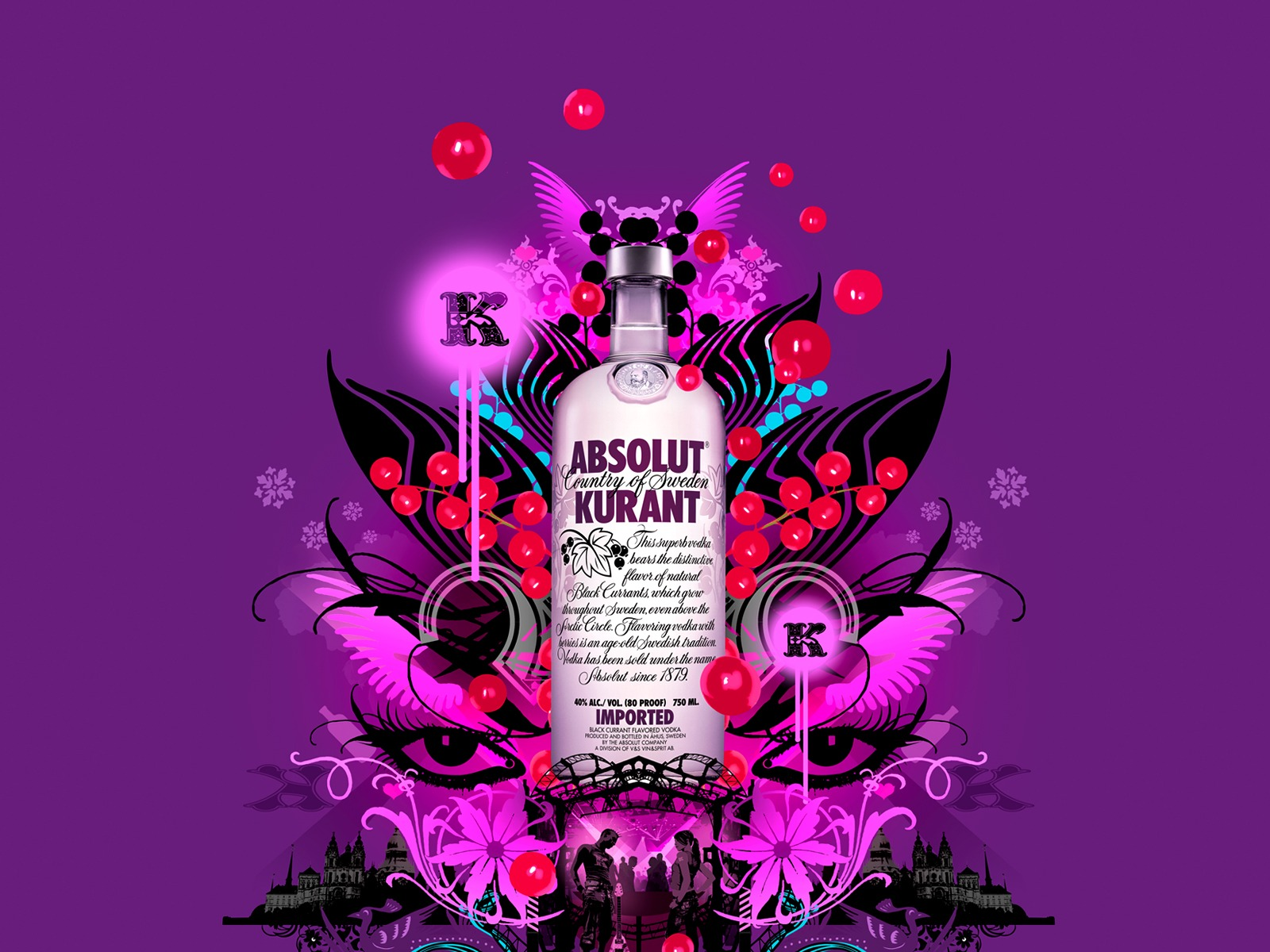 Absolut Tapety louhu Reklama #11 - 1600x1200