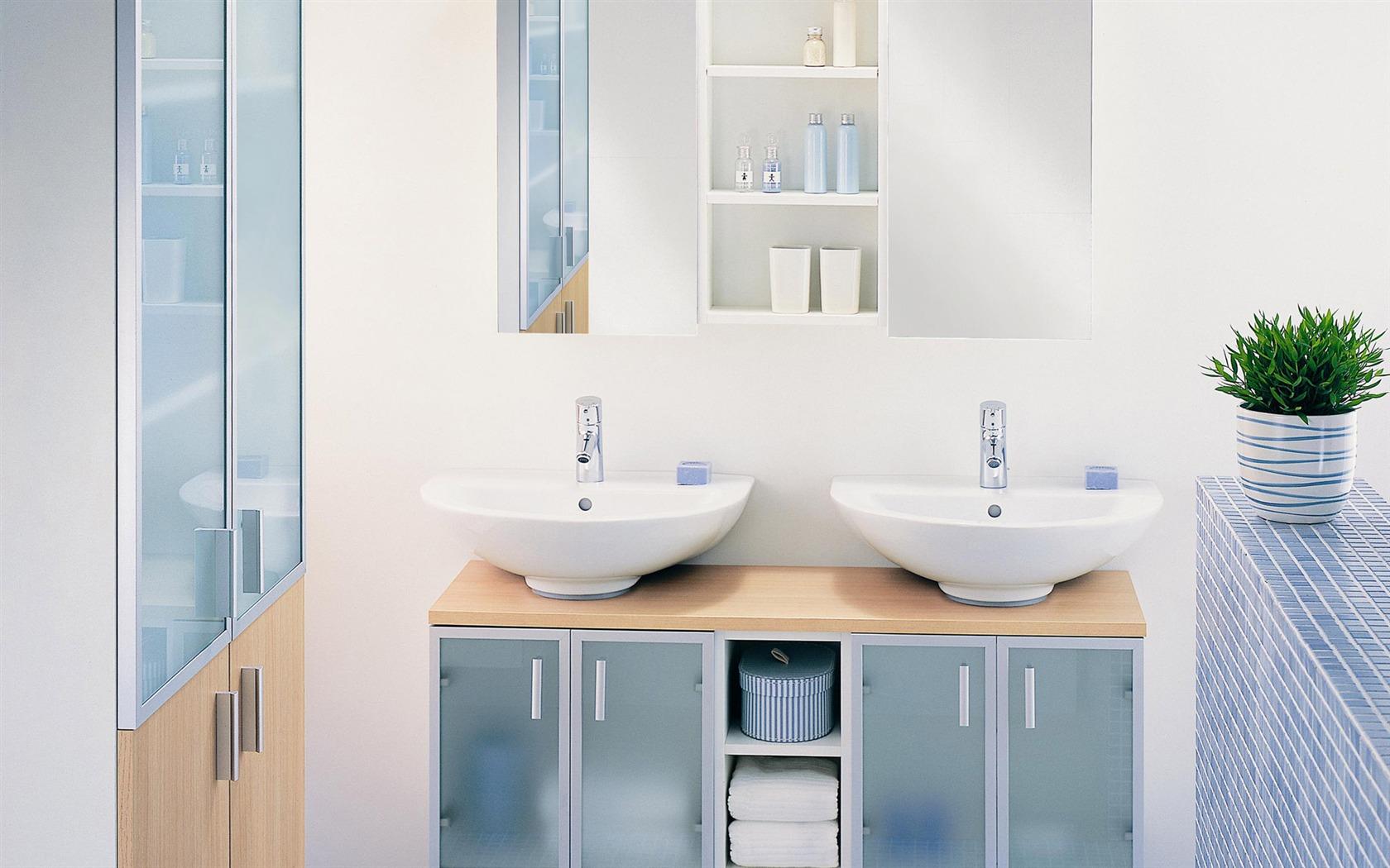 Fond d 39 cran photo salle de bain 2 1 1680x1050 fond d for Ecran salle de bain