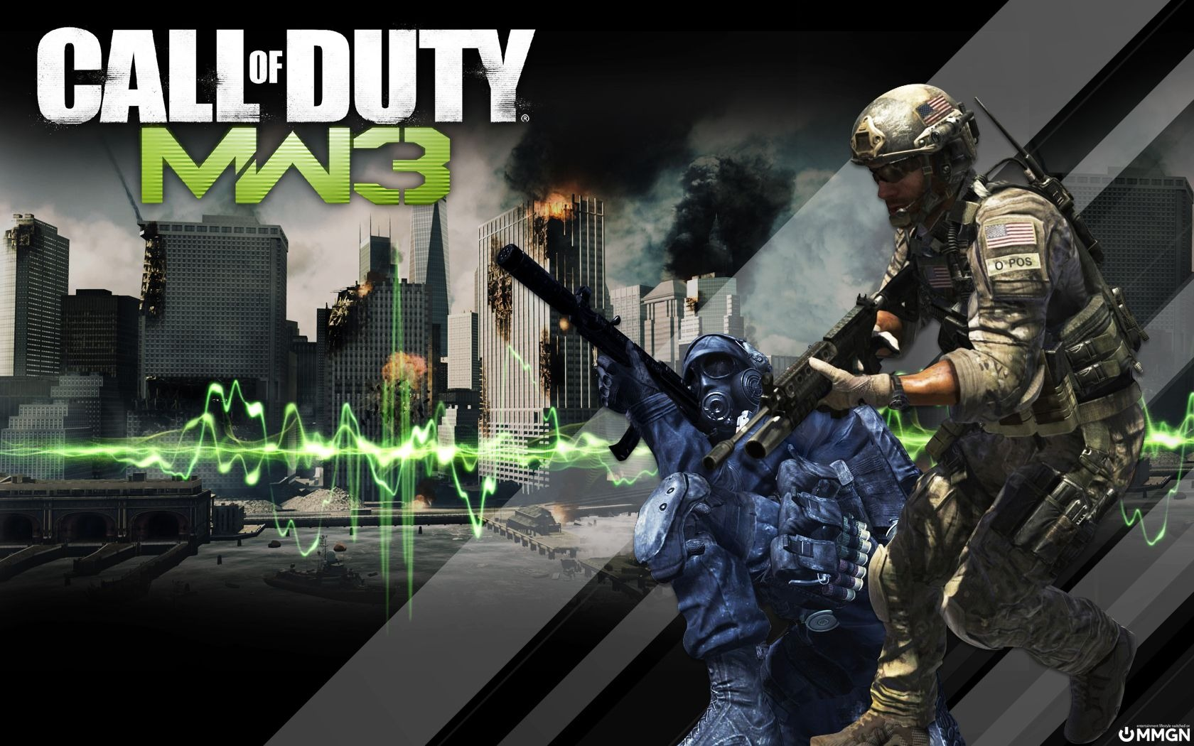 Call of Duty: MW3 fondos de pantalla HD #8 - 1680x1050