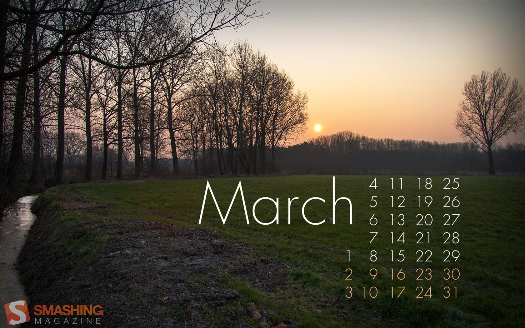 2013年3月カレンダー壁紙(2) #1 ... : 2013年3月カレンダー : カレンダー