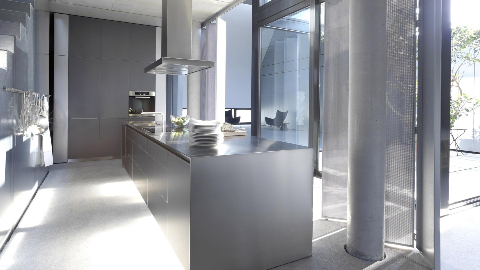Modern Kitchen Stainless Steel
