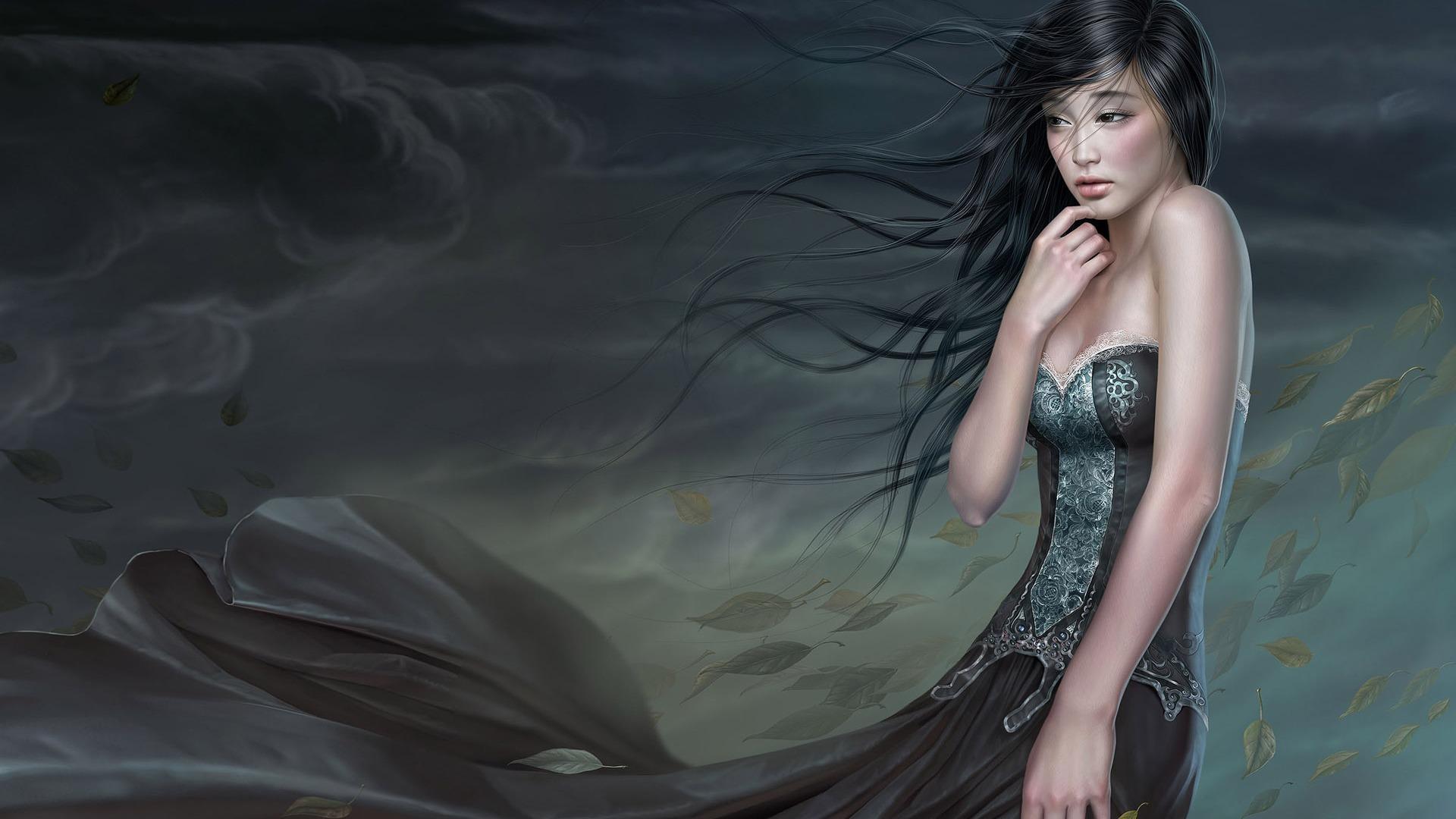 Черноволосые красавицы фото